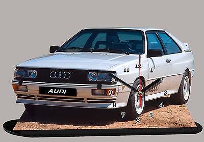 Bello Voiture Miniature, Audi Quattro -03 En Horloge