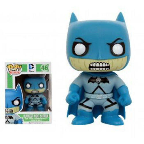 DC Universe-Blackest Night Batman Vinyle Figure 10 cm Funko Pop Exc