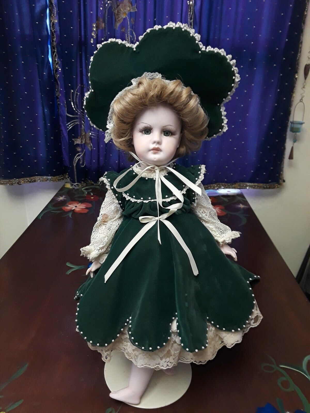 S 15 H 949 Bisque   Porcelain Doll 22  Tall