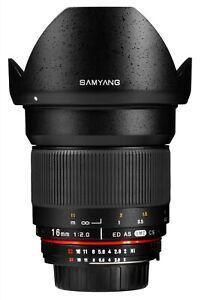 Samyang-16mm-F2-ED-AS-UMC-CS-Canon-EF-Mount-Lens-Ex-Demo