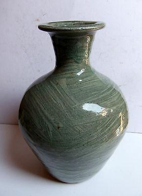 Trevor Corser Hakeme glazed vase Leach pottery/personal marks St Ives Cornwall