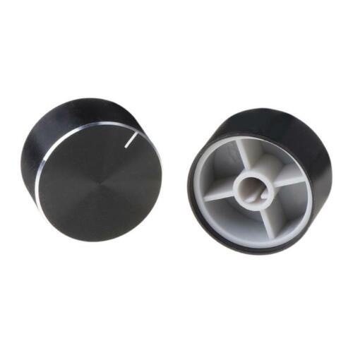 2Pcs 25x13mm D Axis Rotary Potentiometer Knob Encoder For Speaker Audio HiFi