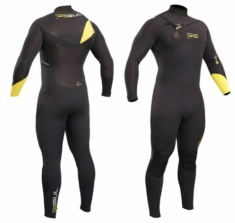 MENS 3 2MM GUL RESPONSE FX CHEST ZIP FULL WETSUIT Canoe Kayak jetski SUP