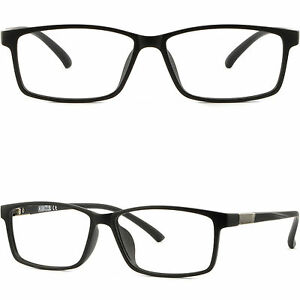 f042259caed Thin Light Men Women Memory Plastic Frame Rectangle Flexible Glasses ...