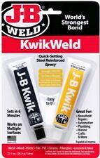 Jb Kwikweld Epoxy Glue Quick Setting Fast Drying Metal Plastic Pvc J B Weld 8276