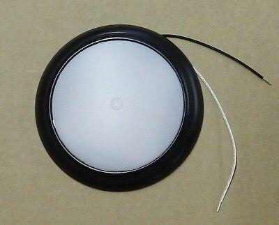 "RV Teardrop Marine Horse Utility LED Ceiling Light w/switch 4.85"" Diameter"