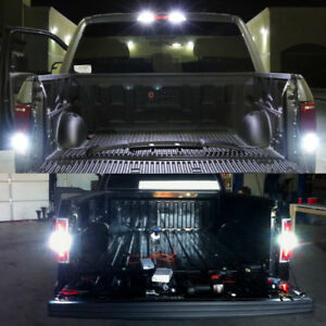 Fit-For-Ford-F150-2015-2018-LED-License-Plate-Backup-High-Mount-Lights-Combo-Kit