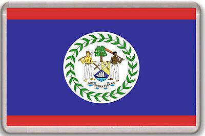 BELIZE FLAG FRIDGE MAGNET IMAN NEVERA