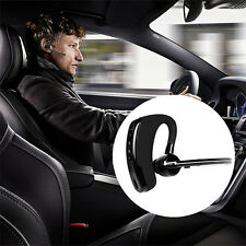 Stereo Wireless Business Work Headset Earphone Bluetooth 4.0 For iPhone Samsung