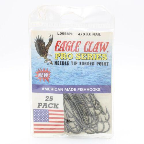 Details about  /Eagle Claw L095BPU Pro Series Black Pearl Fishing Hooks Pick A Size