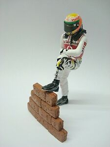 1/18 Figure Ref 61b Lewis Hamilton McLaren F1 Pilote Figurino Pilota