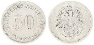 50 Peniques Imperio 1877B Fast MBC 35094