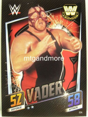 #224 vador Slam ATTAX then Now Forever
