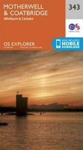 Motherwell-and-Coatbridge-by-Ordnance-Survey-9780319245958-Brand-New