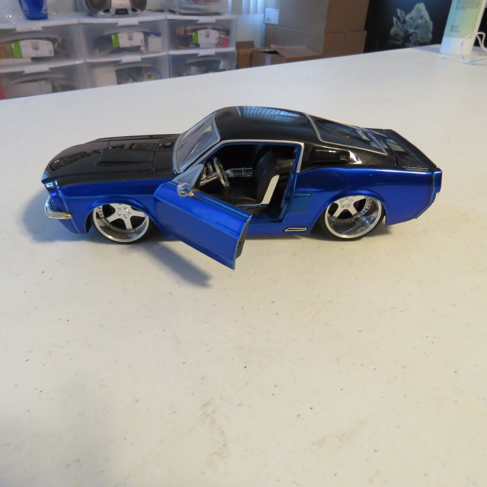 1967 SHELBY GT 500KR 1 24 SCALE DIECAST 2 TONE TONE TONE JADA BIGTIME MUSCLE a7cc46