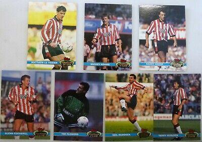 LIVERPOOL TOPPS STADIUM CLUB 1992 FOOTBALL CARDS x 13 Anfield