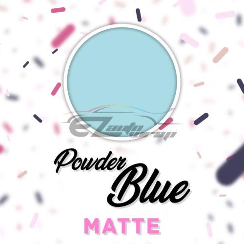 "Powder Blue Matte Heat Transfer Vinyl HTV T-Shirt 20/"" Iron On Heat Press DP31"