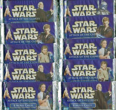7 Loose Packs BUNDLE! Topps Star Wars Cards Hanger Box Plus