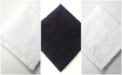 ABSTRACT 100/% Cotton Pocket Square Handkerchief Hanky Wedding Party Men Women