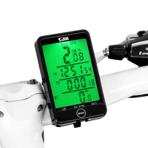 MTB Road Bike Computer Cycling Bicycle Wired/Wireless Odometer Speed Speedometer