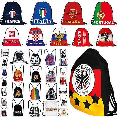 WM 2018 Russland Deutschland Turn Beutel Tasche Rucksack Sport WOW☆WM2018☆NEU☆