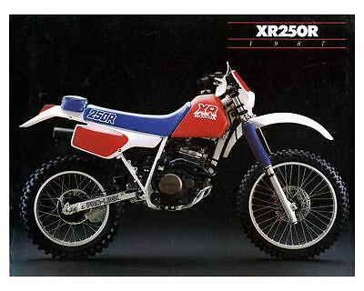 1987 Honda Pro-Link decal stickers XR250R AHRMA Enduro Factory Vintage Vinduro