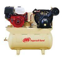 13hp 30-gallon Horizontal Air Compressor With Honda Engine Irr-2475f13gh