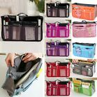 Women Lady Organizer Organiser Travel Bag Purse Handbag Insert Large Tidy Makeup