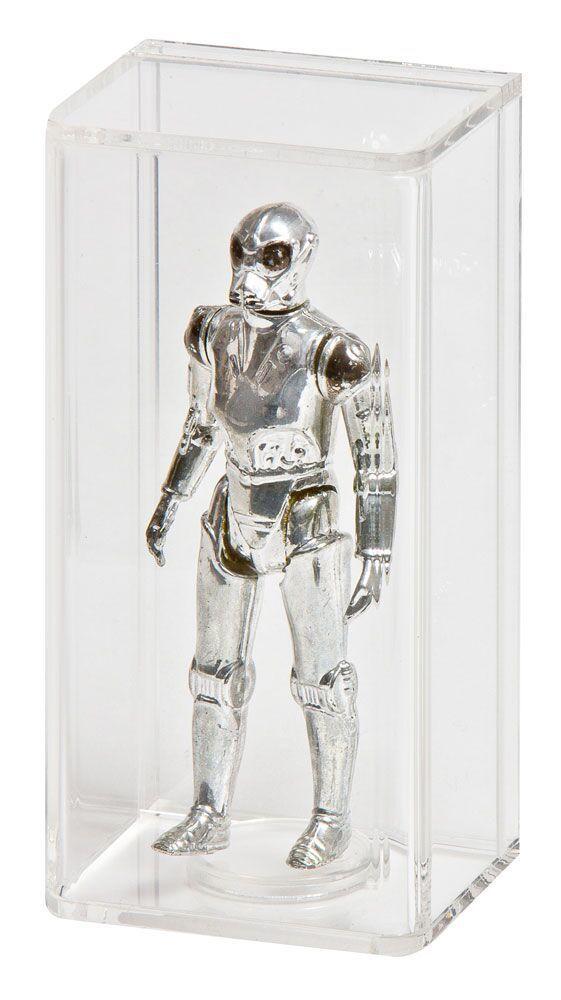 10 10 10 x GW Acrylic Display Cases - LOOSE STAR WARS & GI Joe Figures (AFC-002) 211702
