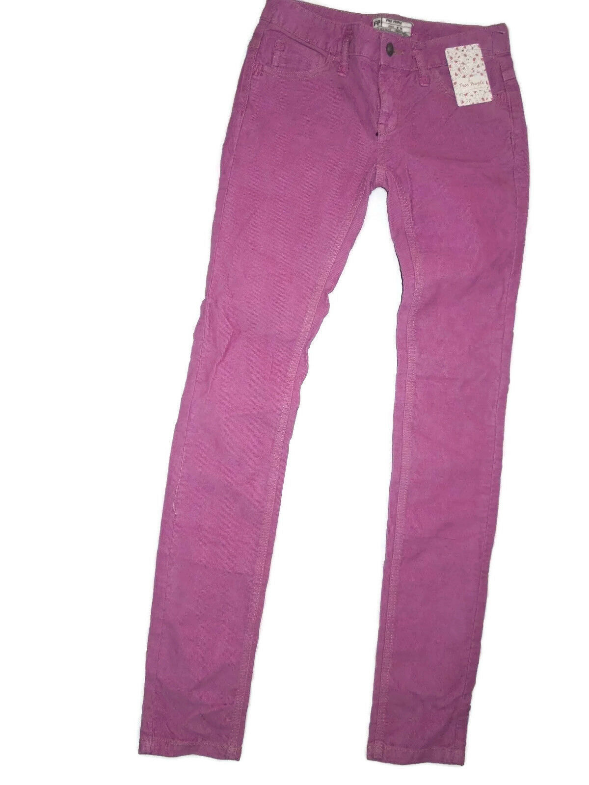 FREE People women's hot pink pink corduroy jeans Size 25