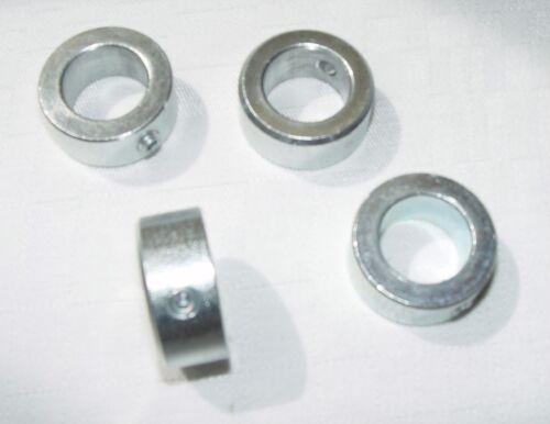 4 pezzi anelli fisse per onda 6mm/asse DIN 705 forma in acciaio a