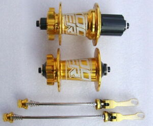 skewer Blue KOOZER MTB Bike Hubs 32H disc brake Hub 100*9 135*10mm Front Rear