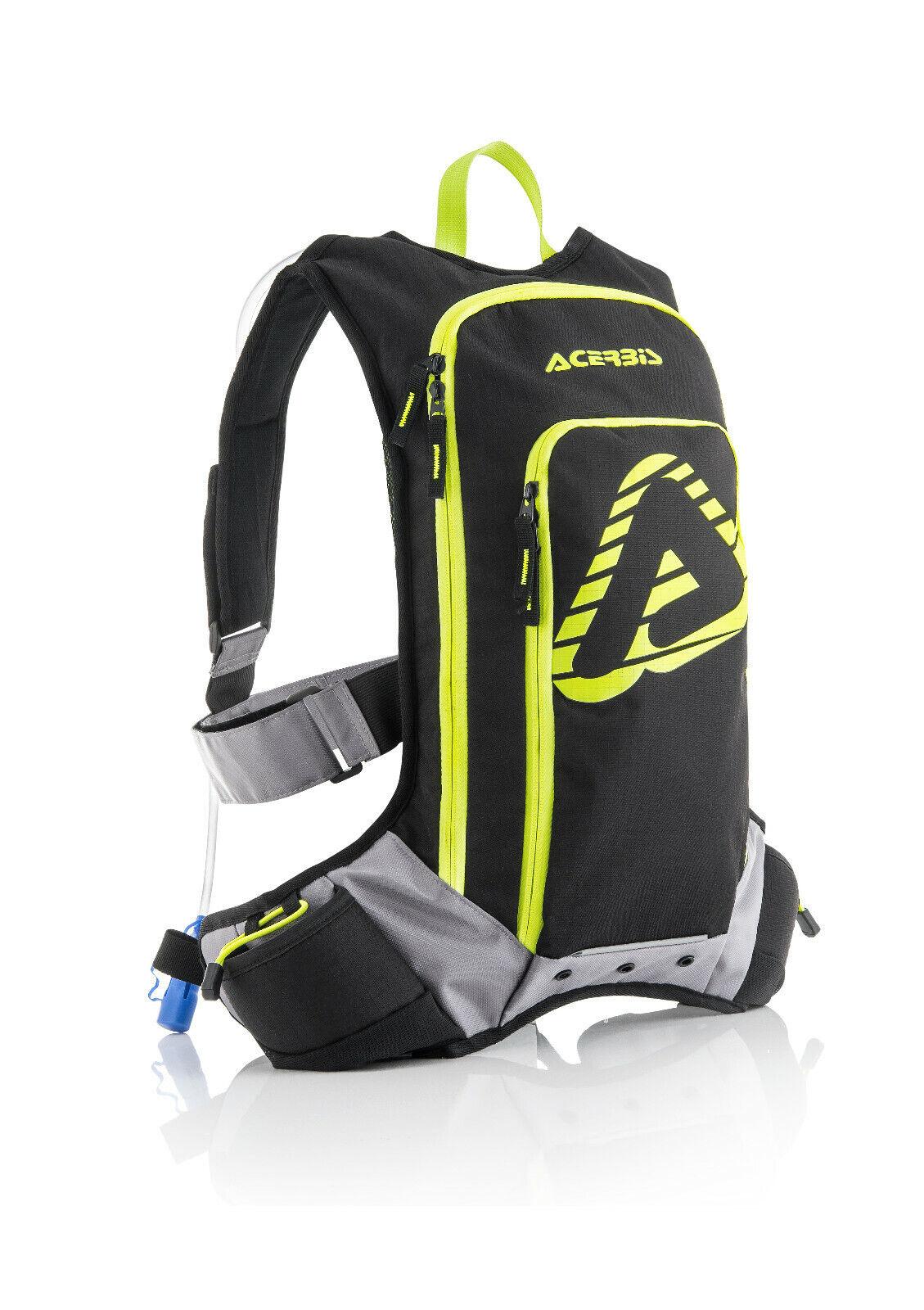 Zaino Camelbak Moto Cross drink bag X-Storm  ACERBIS ACQUA giallo fluo Enduro