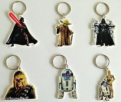 Star Wars Schlüsselanhänger 6 verschiedene zur Auswahl
