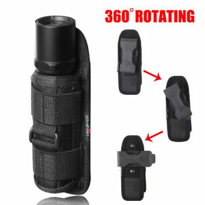 Nylon-Holster-Holder-Belt-Case-Bag-Pouch-for-LED-Flashlight-Torch-14-5x4x4CM