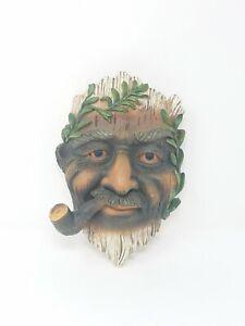 Vtg-resin-roman-man-face-smoking-pipe-wall-decor-man-cave