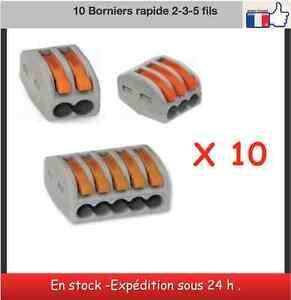 10-Borniers-rapides-connecteur-sucre-Type-Wago-2-3-5-fils