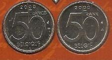 50 frank 2000 fr+vl * uit muntenset * FDC / UNC *