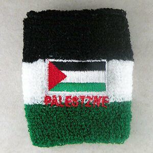 Palestine-Flag-Sports-Sweat-Wrist-Band-Palestinian