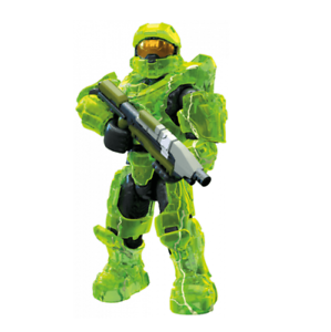 Mega Construx PRO BUILDERS Halo Series 11 MASTER CHIEF GLB56 NEW OVERSHIELD