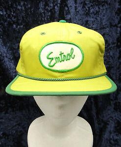 Details about Vintage Emtrol Patch Front Green 6 Panel Trucker Velcro Hat  Cap Med to Large