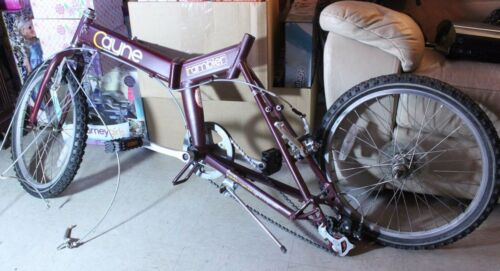 Cayne Rambler SMART Maroon Folding Bike Bicycle