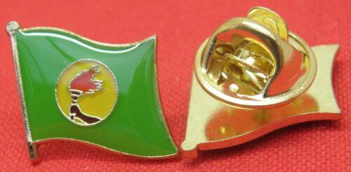 Zaire Flag Lapel Hat Cap Tie Pin Badge République du Zaïre Republic of Zaire