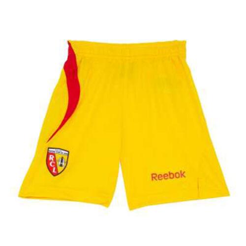 Short Pantaloni NUOVO /& OVP GIALLO CALCIO FRANCIA TG S Reebok RC Lens