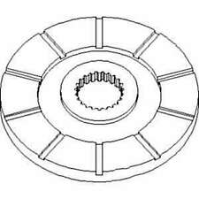 Disc 70277357 Fits Whiteoliverminneapolis Moline 2655 A4t1400 A4t1600 G1000