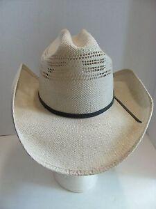 346e976b981470 Bailey U-Rollit Straw Cowboy Hat Size 6 5/8 - Excellent Condition | eBay