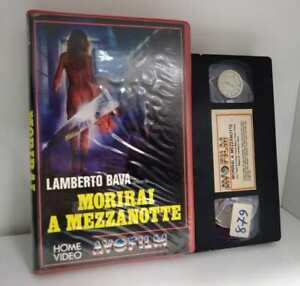 Morirai-a-mezzanotte-Lamberto-Bava-VHS-ex-noleggio-Avofilm