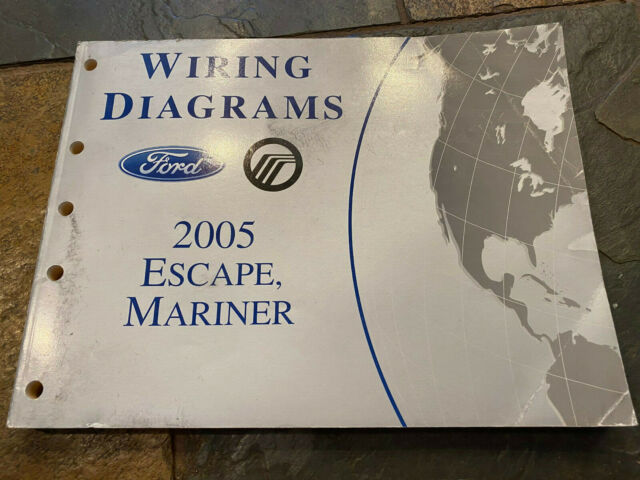 2005 Ford Escape Mercury Mariner Wiring Diagrams