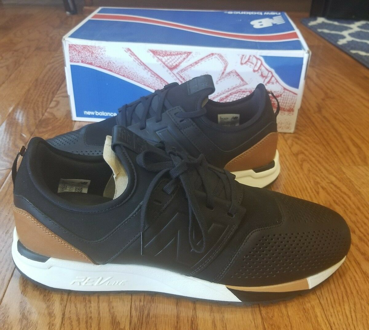 New Balance 247 Luxe pack ds brand new  sz 13 black