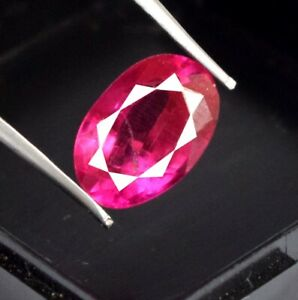 Padparadscha Pink Sapphire 6.70 Ct Oval 100% Natural Gemstone Certified A49331